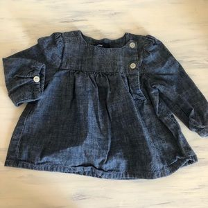Baby Gap denim top